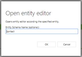 Open Entity Editor