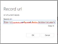 Record URL
