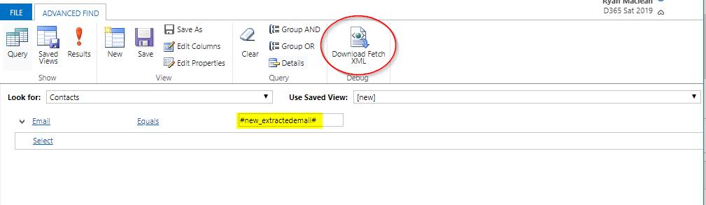 Create Fetch XML